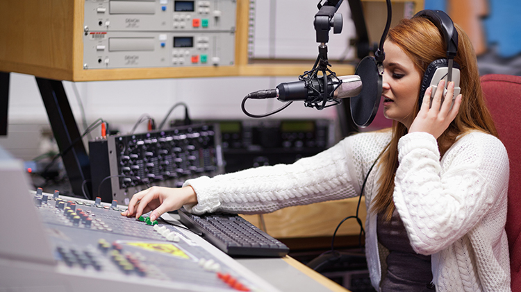 AFN Announcer Radio Station