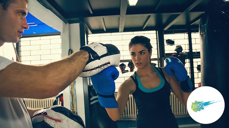 Stanley B.O.S.S Kick Boxing Class